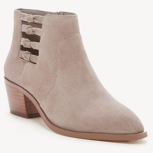 NWT Sole Society Multi Knotted Suede Booties